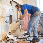 Удаление настенного покрытия